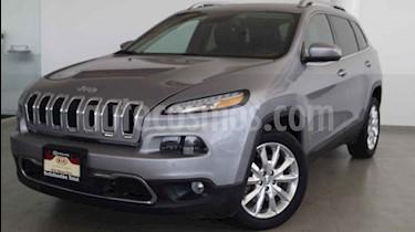 Jeep Cherokee Limited Premium usado (2016) color Plata precio $338,000