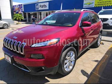 Foto venta Auto usado Jeep Cherokee Limited Premium (2015) color Rojo precio $280,000