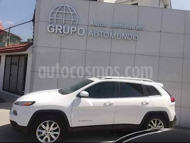 Foto venta Auto usado Jeep Cherokee Limited Premium (2015) color Blanco precio $289,000