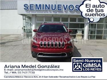 Foto venta Auto usado Jeep Cherokee Limited Premium (2015) color Rojo precio $310,000