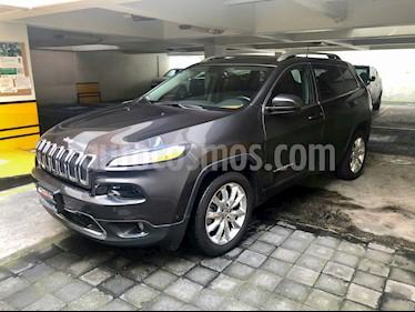 Jeep Cherokee Limited usado (2016) color Granito precio $329,000