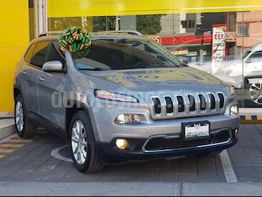 Foto venta Auto usado Jeep Cherokee Limited (2014) color Gris precio $295,000