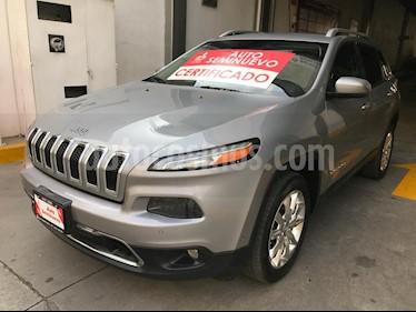 Foto venta Auto Seminuevo Jeep Cherokee Limited (2015) color Plata Martillado precio $303,000