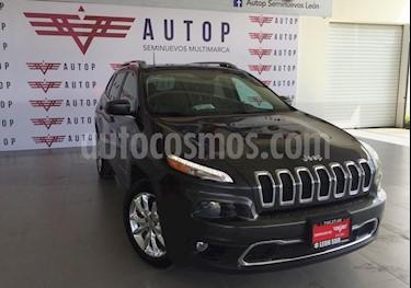Jeep Cherokee Limited usado (2017) color Gris precio $395,000