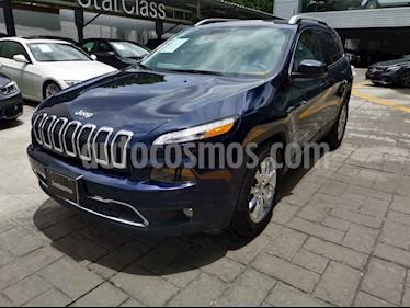 Jeep Cherokee Limited usado (2016) color Azul precio $350,000