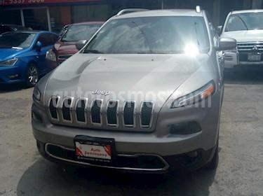Foto venta Auto usado Jeep Cherokee Limited (2015) color Plata Martillado precio $289,000