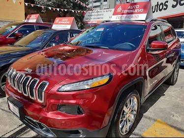 Foto venta Auto usado Jeep Cherokee Limited (2017) color Rojo Cerezo precio $399,000
