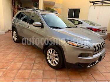 Foto venta Auto usado Jeep Cherokee Limited (2015) color Granito precio $280,000