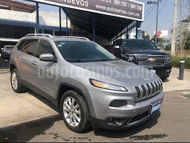 Foto venta Auto usado Jeep Cherokee Limited (2015) color Granito precio $298,000