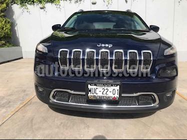 Foto venta Auto usado Jeep Cherokee Limited (2015) color Azul precio $269,000