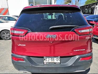 Foto venta Auto usado Jeep Cherokee Limited (2014) color Rojo Cerezo precio $345,000