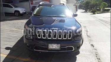 Foto venta Auto usado Jeep Cherokee Limited (2014) color Azul precio $270,000