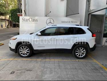 Foto venta Auto usado Jeep Cherokee Limited (2014) color Blanco precio $255,000