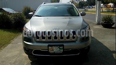 Foto venta Auto usado Jeep Cherokee Limited (2016) color Gris precio $329,000