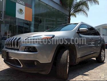 Foto venta Auto usado Jeep Cherokee Limited (2014) color Plata precio $280,000