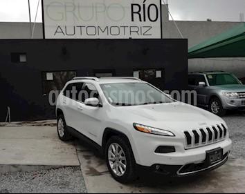 Foto venta Auto usado Jeep Cherokee Limited (2015) color Blanco precio $279,000