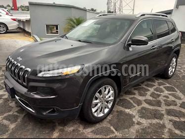 Foto venta Auto usado Jeep Cherokee Limited (2015) color Gris precio $295,000