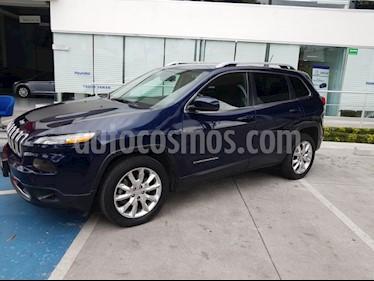 Foto venta Auto Seminuevo Jeep Cherokee Limited (2015) color Azul precio $275,000