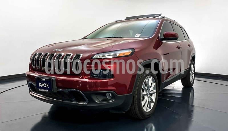 Jeep Cherokee Limited usado (2014) color Rojo precio $274,999