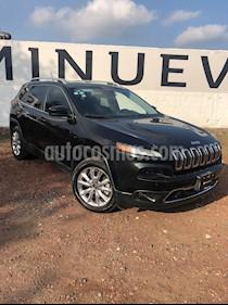 Jeep Cherokee Limited Premium usado (2015) color Negro precio $262,000