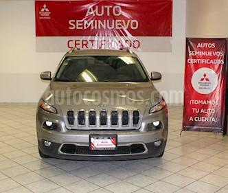 Jeep Cherokee Limited Premium usado (2015) color Plata Martillado precio $278,000