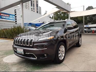 Jeep Cherokee Limited usado (2014) color Granito precio $228,000