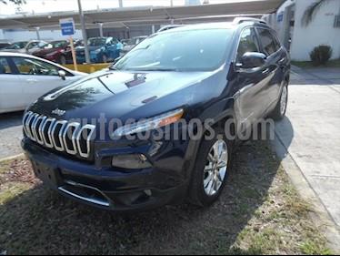 Jeep Cherokee Limited usado (2015) color Azul Marino precio $265,000
