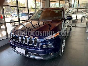 Jeep Cherokee Limited Premium usado (2016) color Azul precio $280,000