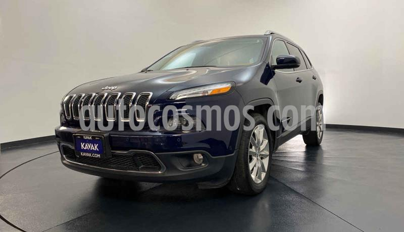Jeep Cherokee Limited usado (2016) color Azul precio $317,999