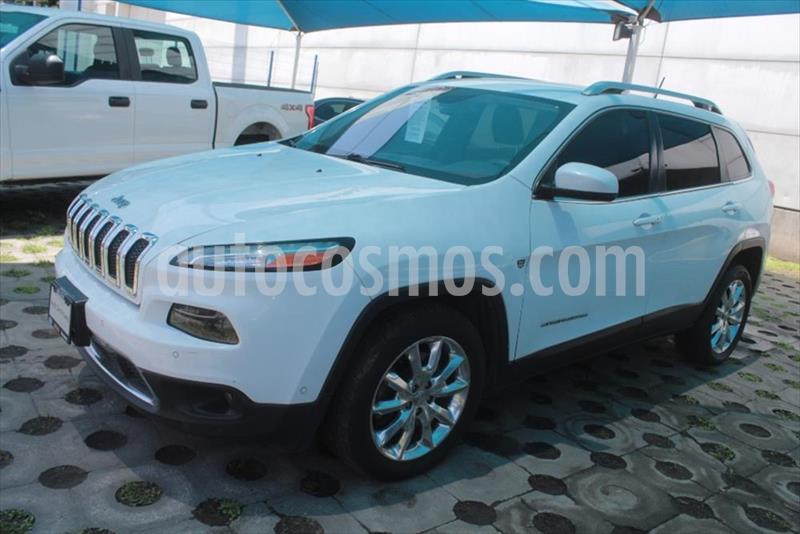 Jeep Cherokee Limited usado (2015) color Blanco precio $235,000