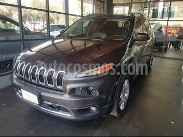 Jeep Cherokee Limited Premium usado (2015) color Gris precio $230,000