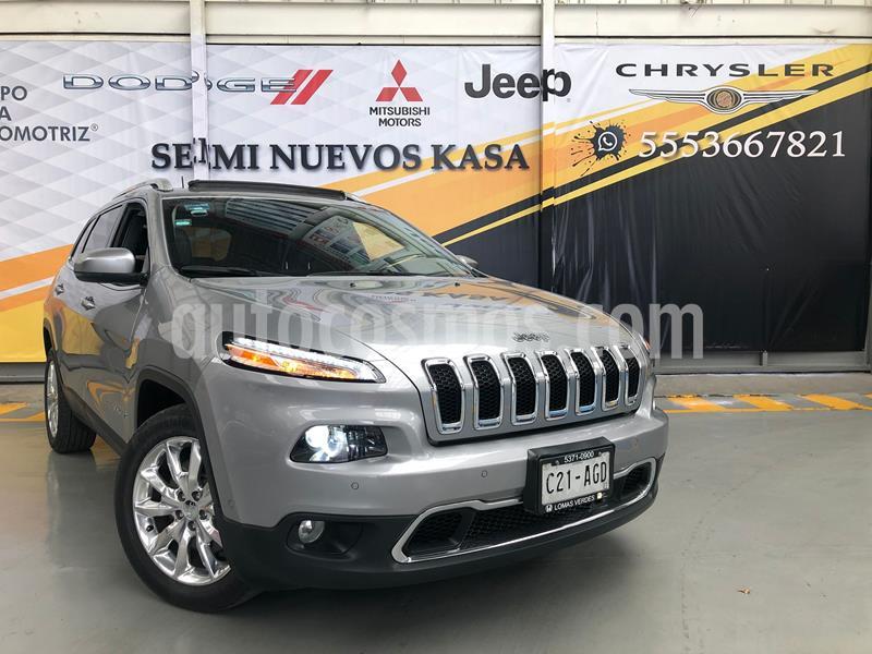 Jeep Cherokee Limited Premium usado (2016) color Plata Dorado precio $340,000