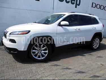 Jeep Cherokee 5P LIMITED 4X2 L4/2.4 AUT usado (2015) color Blanco precio $330,000