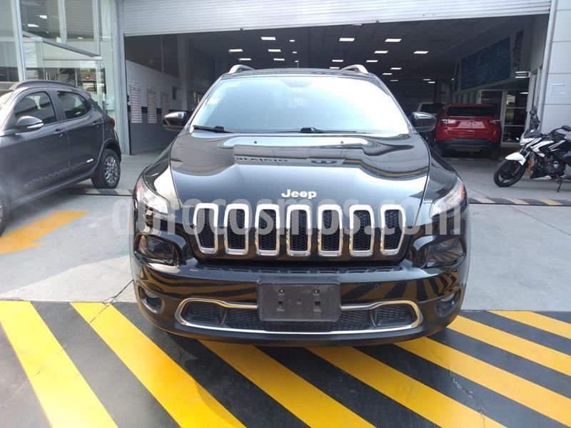 Jeep Cherokee Limited usado (2015) color Negro precio $249,000