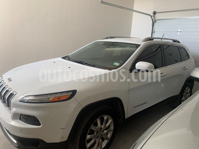 Jeep Cherokee Limited usado (2015) color Blanco precio $260,000