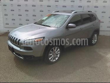 Jeep Cherokee Limited usado (2017) color Plata precio $375,000