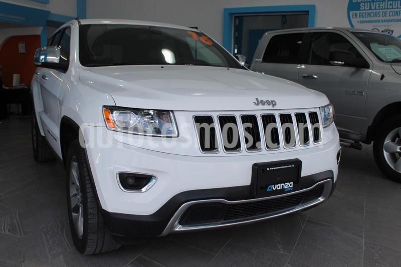Jeep Cherokee Limited usado (2016) color Blanco precio $435,000