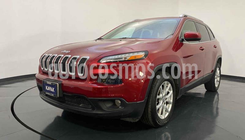 Jeep Cherokee Latitude usado (2014) color Rojo precio $249,999