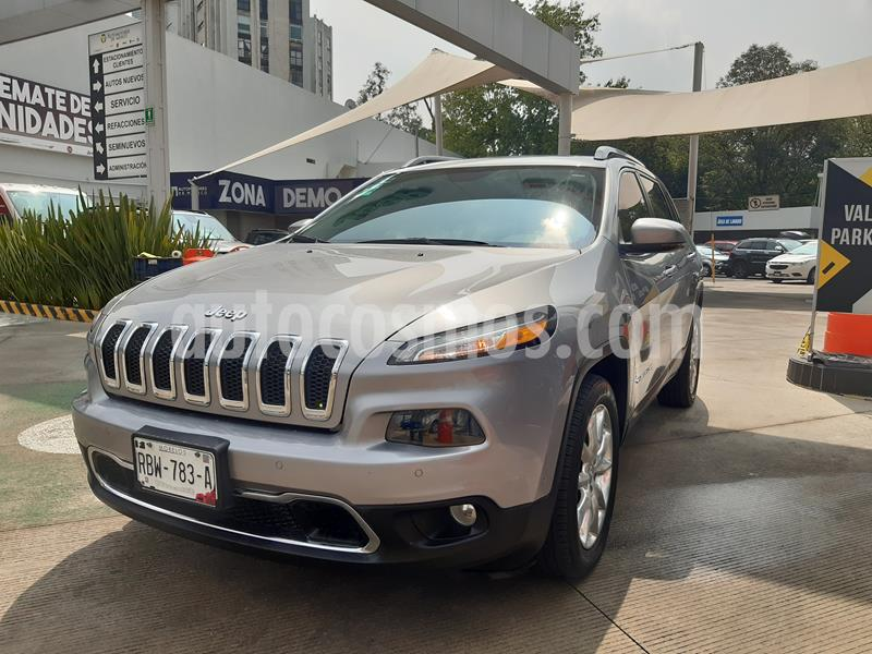 Jeep Cherokee Limited Plus usado (2017) color Plata Martillado precio $384,000