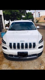 Jeep Cherokee Limited Plus usado (2015) color Blanco precio $274,000