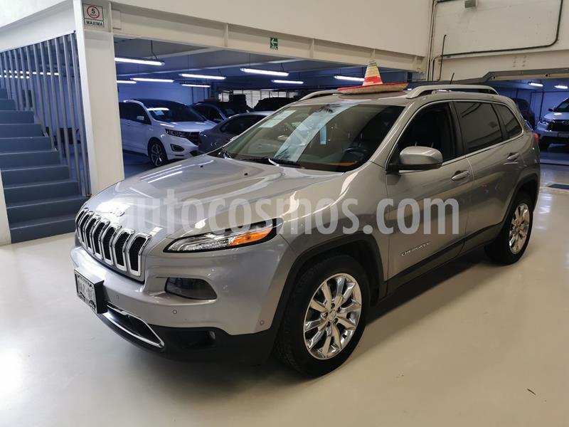 Jeep Cherokee Limited usado (2015) color Plata Dorado precio $264,100