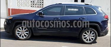 Jeep Cherokee Limited Premium usado (2015) color Azul Real precio $225,000