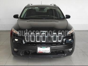 Jeep Cherokee 5P LATITUD 4X2 L4/2.4 AUT usado (2015) color Negro precio $196,000