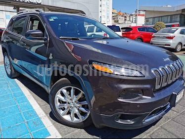 Jeep Cherokee Limited Plus usado (2017) color Gris precio $345,000