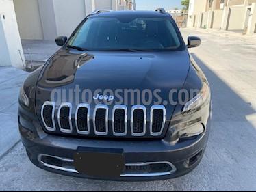 Jeep Cherokee Limited usado (2015) color Granito precio $265,000