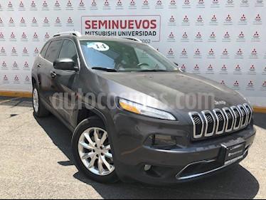 Jeep Cherokee Limited usado (2014) color Granito precio $245,000