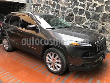 Jeep Cherokee Limited usado (2016) color Granito precio $315,000