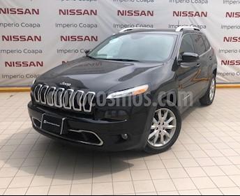 Jeep Cherokee Limited Plus usado (2017) color Negro precio $360,000