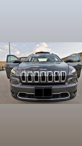 Jeep Cherokee Limited usado (2017) color Gris precio $359,000