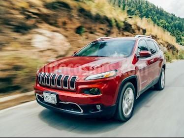 Jeep Cherokee 5P LIMITED L4 2.4L TA PIEL GPS RA-18 usado (2014) color Rojo precio $236,000